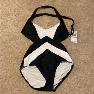 Michael Kors one piece bathing suit